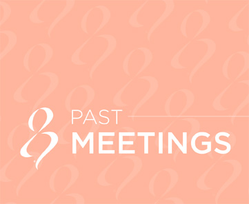 Past Meetings